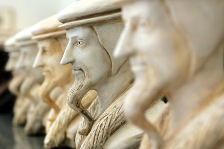busto calvino museo da reforma